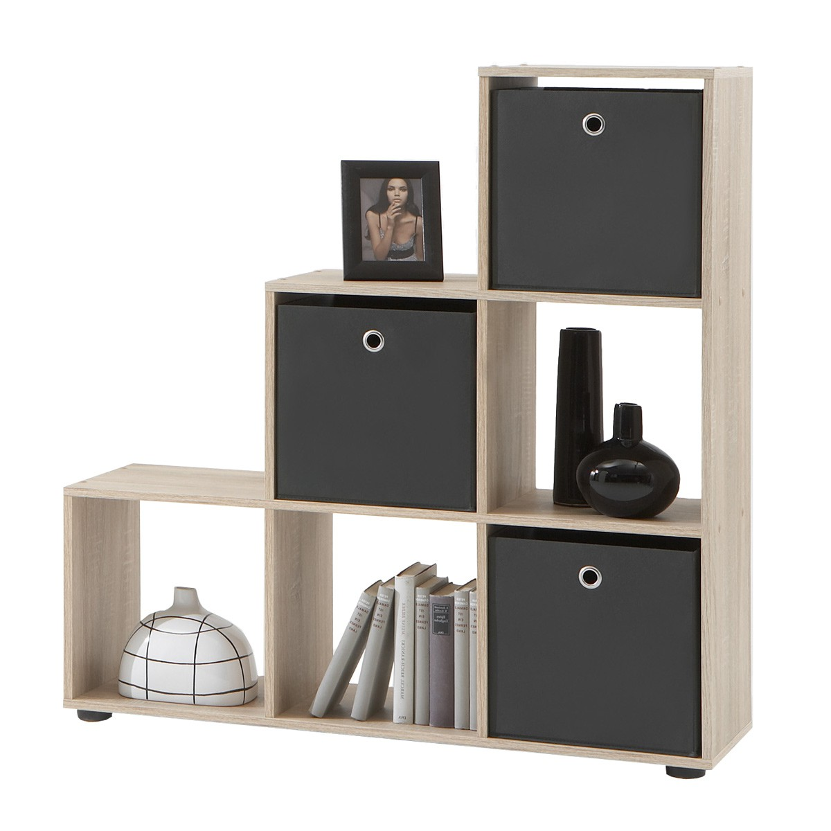 moderne b cherschrank aus holz cubus by sebastian desch team 7 pictures to pin on pinterest. Black Bedroom Furniture Sets. Home Design Ideas