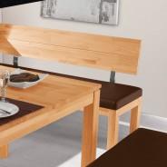 eckbank sitzbank eckbankgarnitur 208x171cm in kernbuche. Black Bedroom Furniture Sets. Home Design Ideas