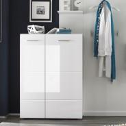 garderobe 4 teilig garderoben set garderobe modern in wei. Black Bedroom Furniture Sets. Home Design Ideas