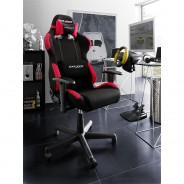 Chefsessel RACER TWO in Schwarz / Rot