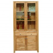 vitrine holzvitrine standvitrine vitrinenschrank. Black Bedroom Furniture Sets. Home Design Ideas