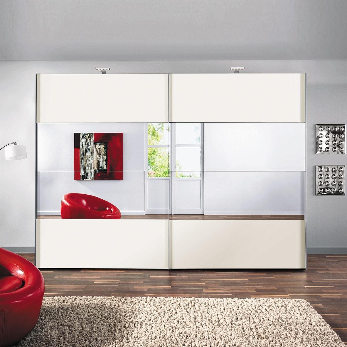 schwebet renschrank julius in wei 250 cm breit. Black Bedroom Furniture Sets. Home Design Ideas