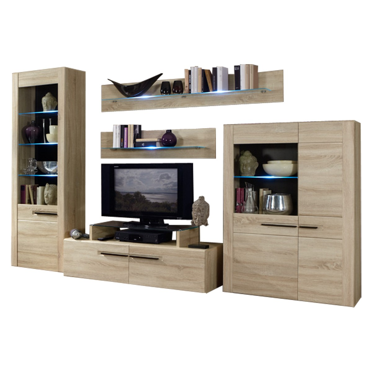 tv sideboard eiche s gerau inspirierendes design f r wohnm bel. Black Bedroom Furniture Sets. Home Design Ideas