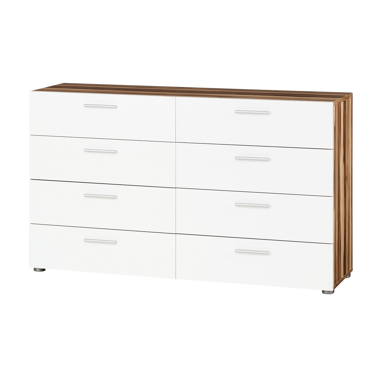 wohnling sideboard lena weiss 60 x 75 cm mit 2 t ren 1 schublade smash. Black Bedroom Furniture Sets. Home Design Ideas