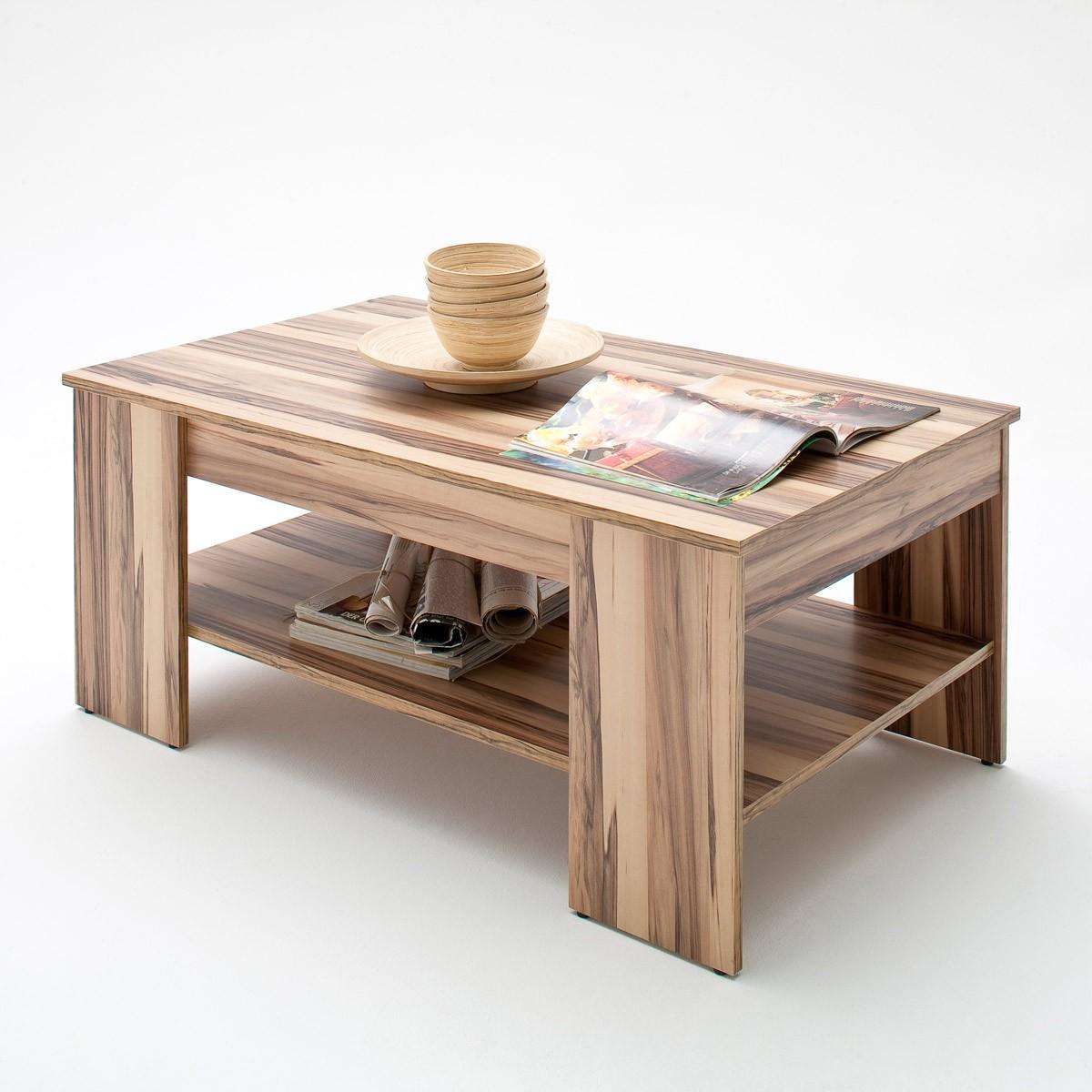 couchtisch wohnzimmertisch tisch wohnzimmer mit ablage in. Black Bedroom Furniture Sets. Home Design Ideas