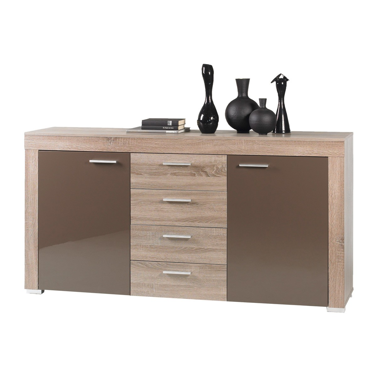 sideboard sonoma eiche s gerau die neuesten innenarchitekturideen. Black Bedroom Furniture Sets. Home Design Ideas