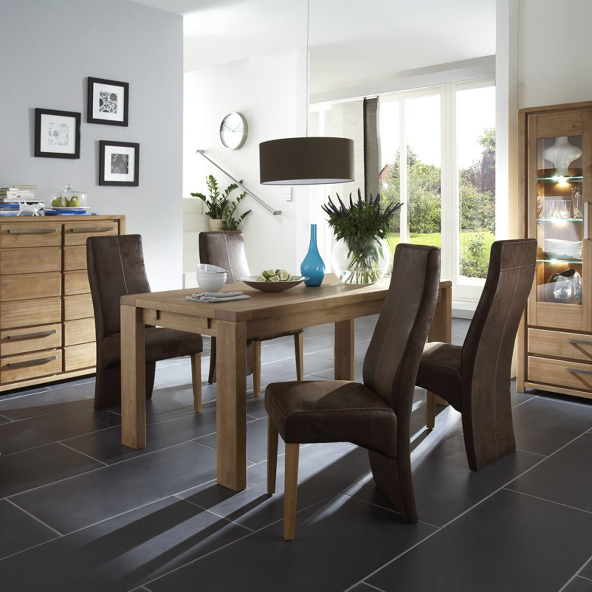 essgruppe sitzgruppe esszimmer esstisch pinie 4 st hle. Black Bedroom Furniture Sets. Home Design Ideas