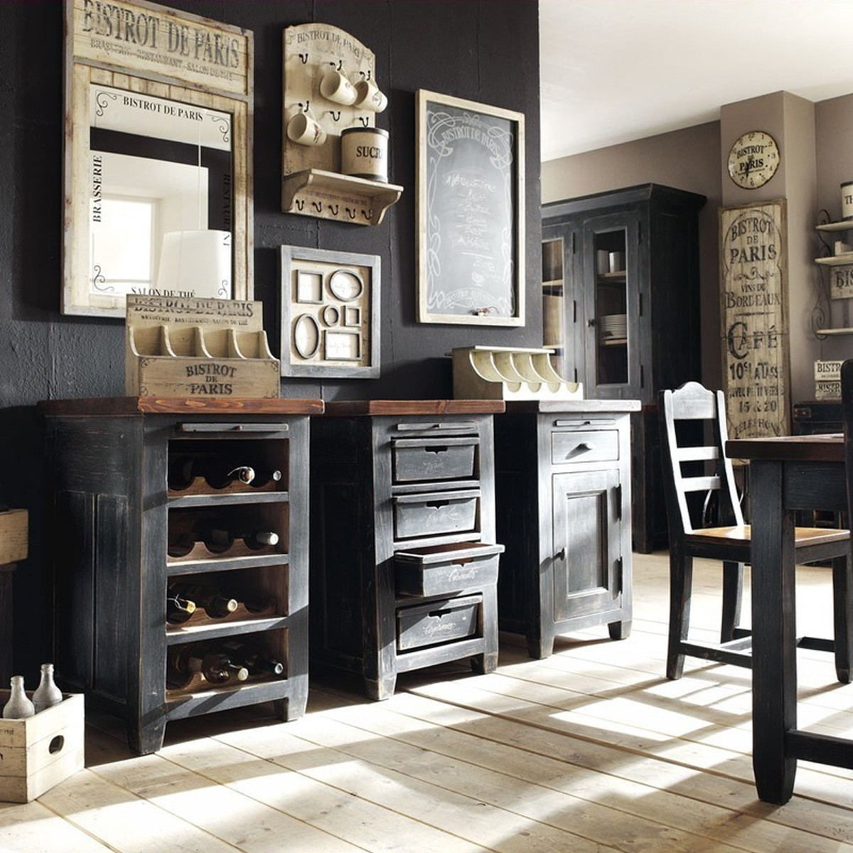 servierwagen k che wagen cleo massiv mit 4 rollen ebay. Black Bedroom Furniture Sets. Home Design Ideas