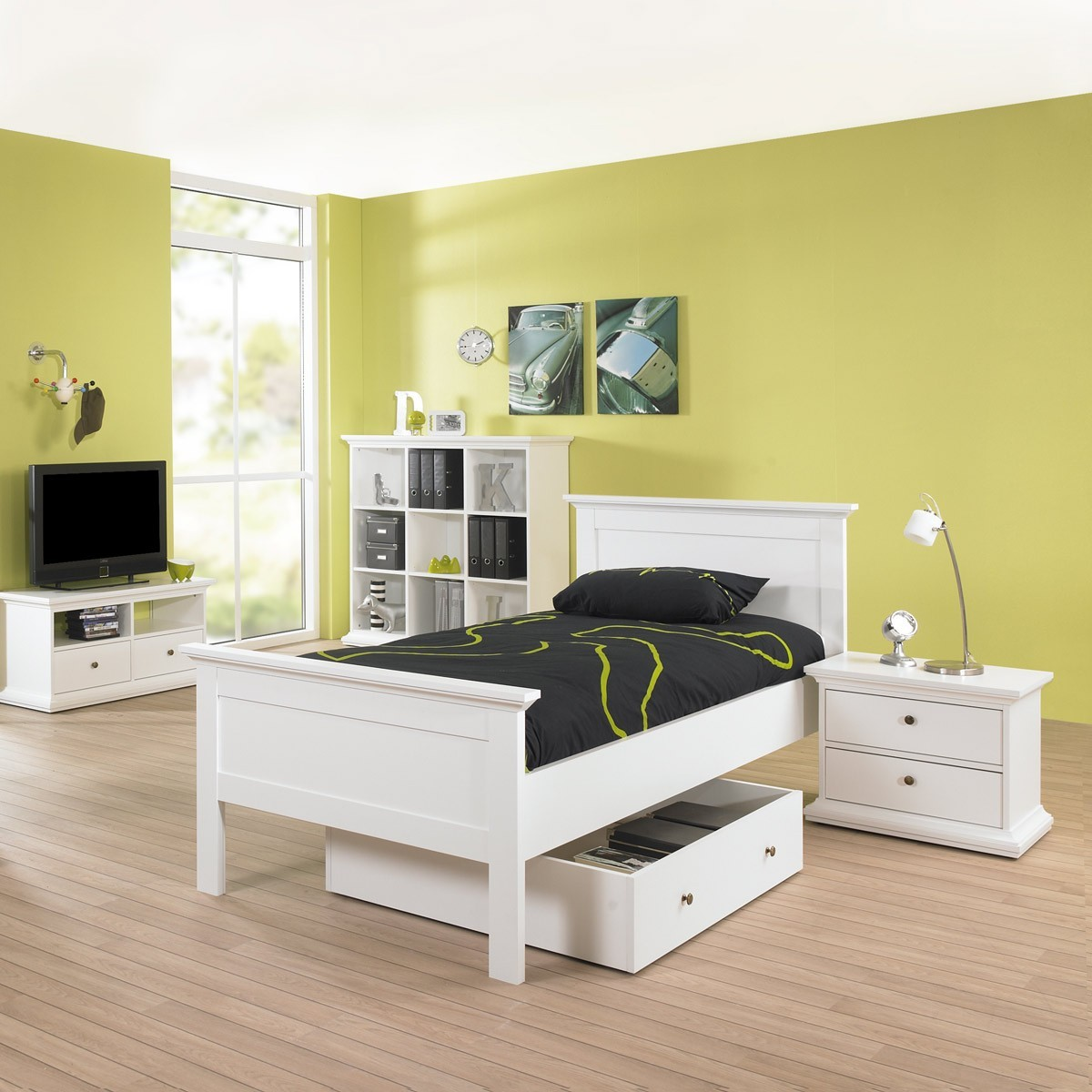 ikea bett weis 90x200 m bel inspiration und innenraum ideen. Black Bedroom Furniture Sets. Home Design Ideas