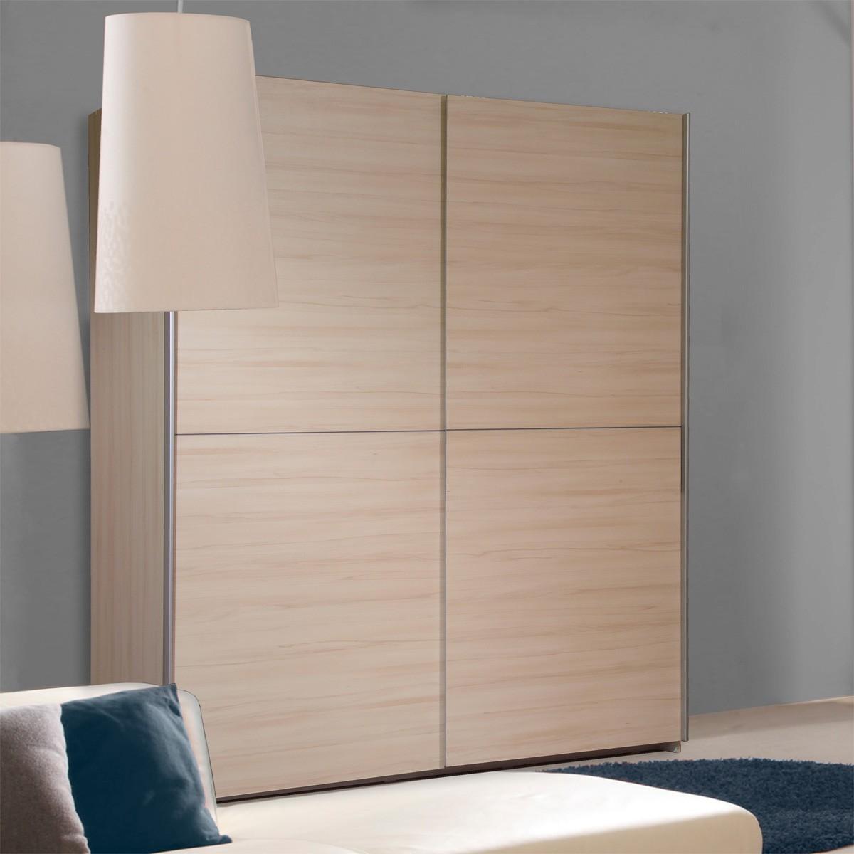 kleiderschrank schiebet ren buche. Black Bedroom Furniture Sets. Home Design Ideas