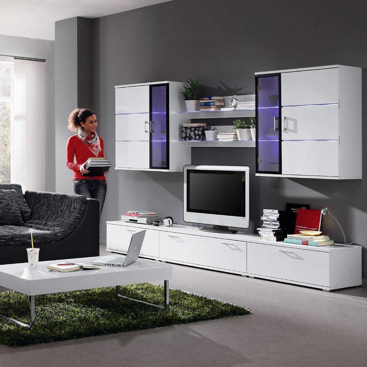 Wohnwand moderne neu interessante ideen f r for Wohnwand italian design