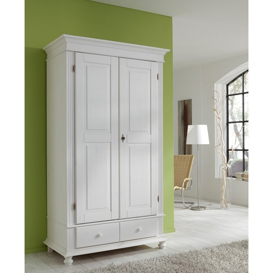 kleiderschrank schrank arta in massivholz pinie ebay. Black Bedroom Furniture Sets. Home Design Ideas
