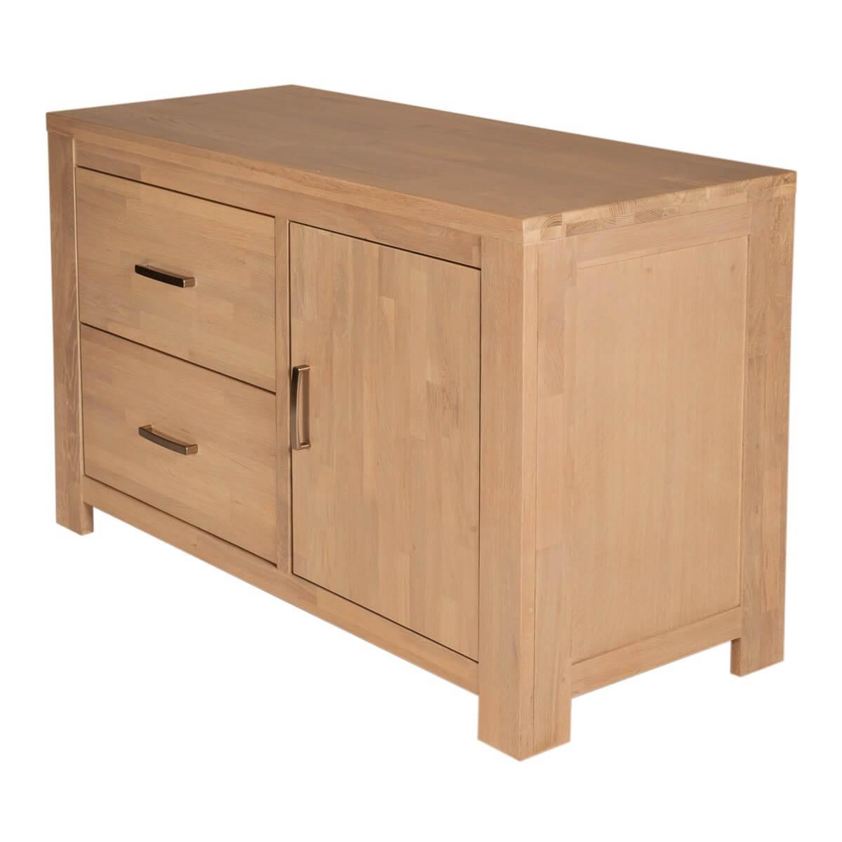 kommode scott in eiche teilmassiv wei gewischt. Black Bedroom Furniture Sets. Home Design Ideas