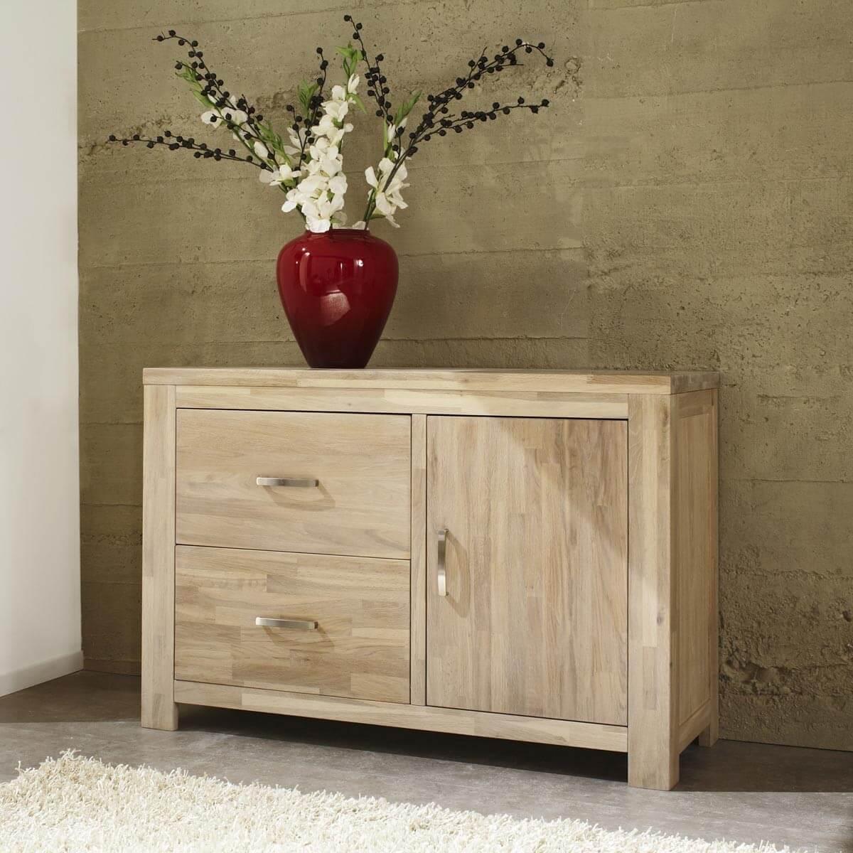 kommode scott in eiche teilmassiv in wei gewischt. Black Bedroom Furniture Sets. Home Design Ideas