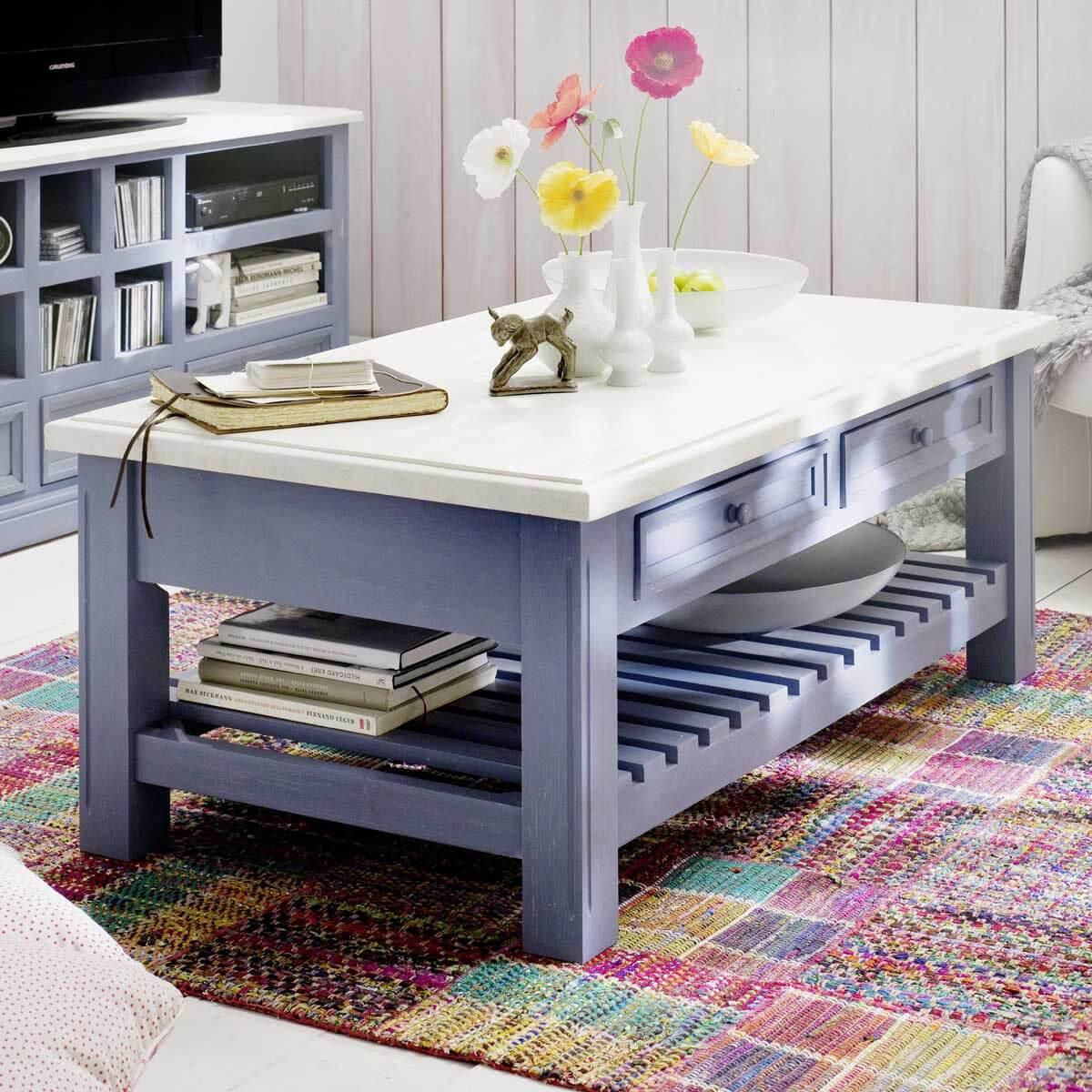badm bel landhausstil blau die beste inspiration f r. Black Bedroom Furniture Sets. Home Design Ideas