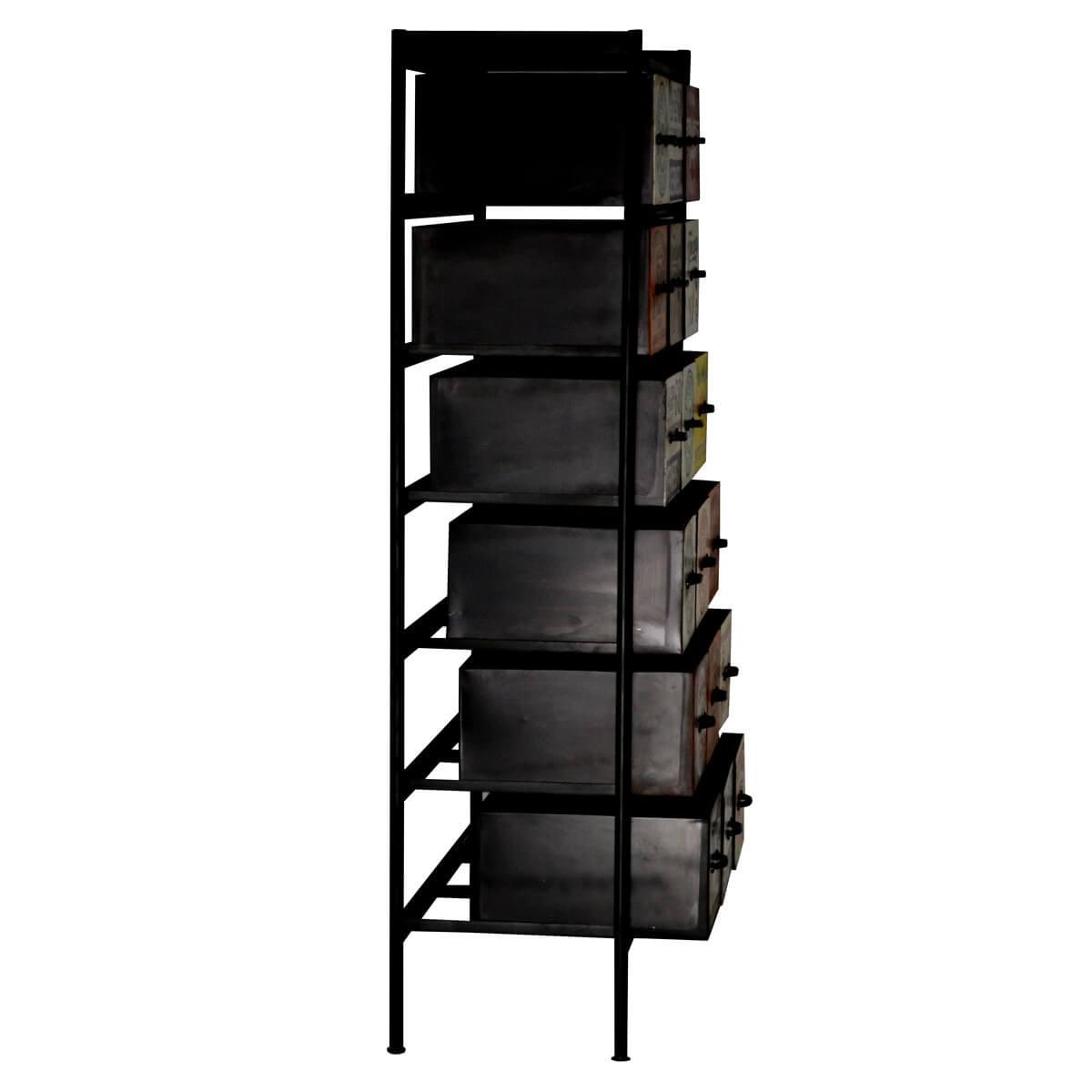 kommode eiker aus metall bunt. Black Bedroom Furniture Sets. Home Design Ideas