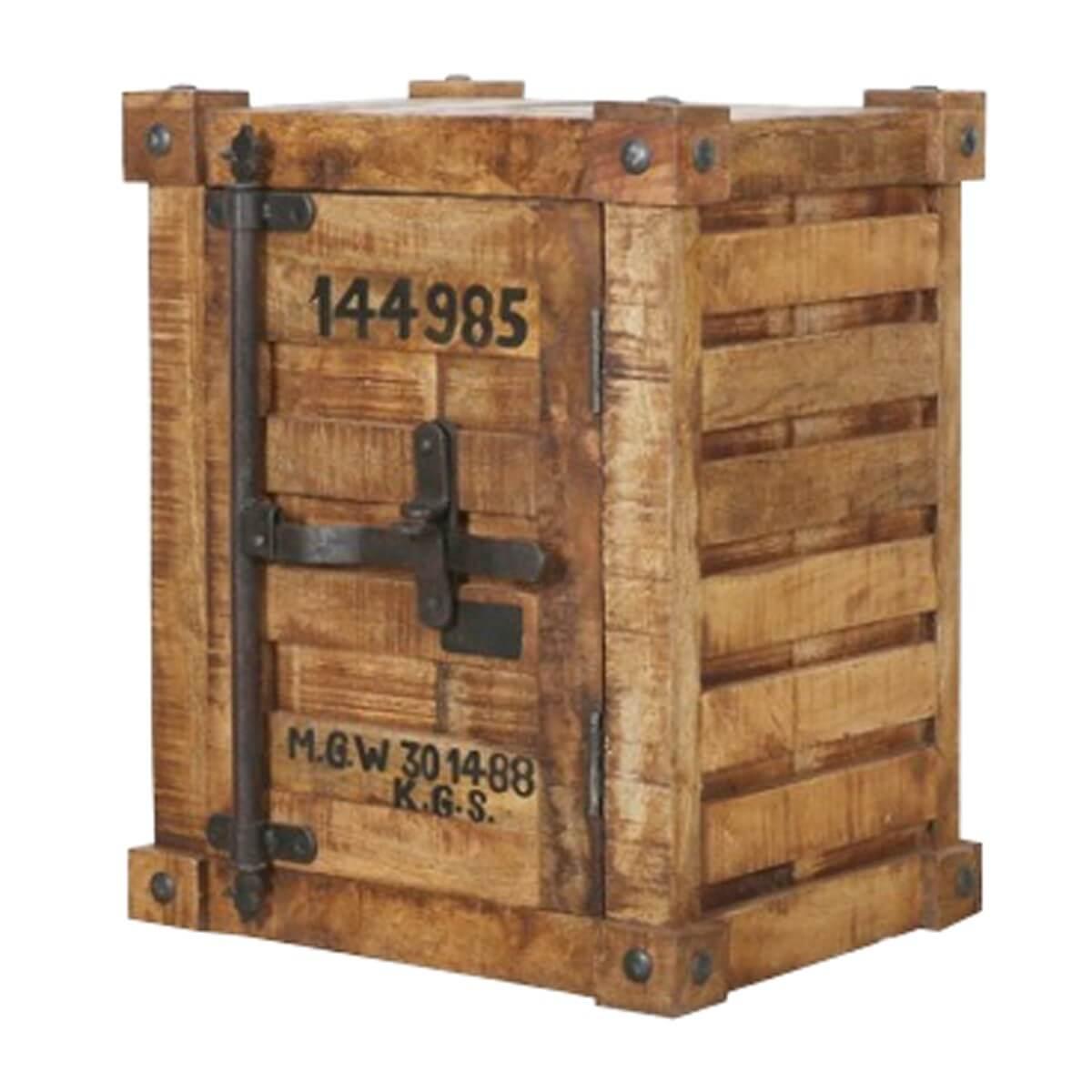 kommode sideboard anrichte mit t r massivholz mangoholz massiv natur neu ebay. Black Bedroom Furniture Sets. Home Design Ideas