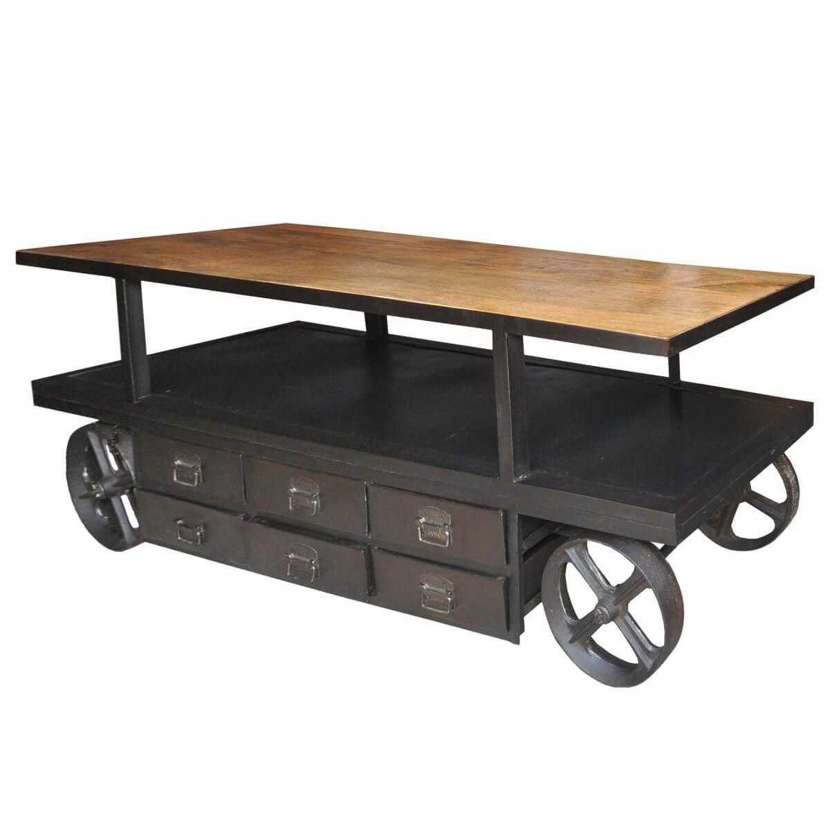 sideboard anrichte kommode massivholz und metall. Black Bedroom Furniture Sets. Home Design Ideas