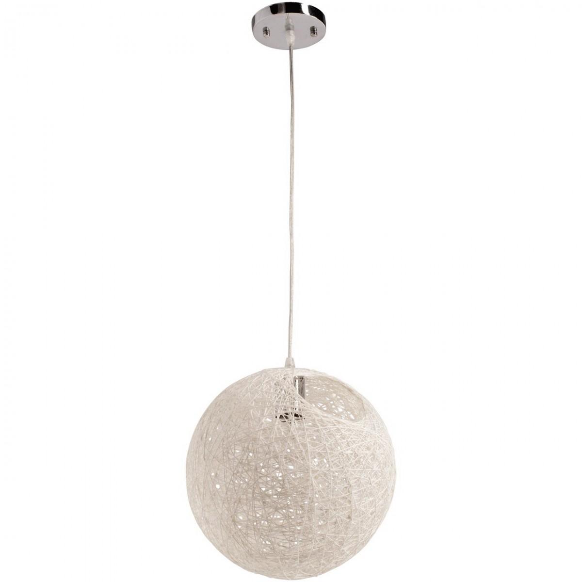 deckenleuchte deckenlampe eco style 30 cm chrom wei metall papier neu ebay. Black Bedroom Furniture Sets. Home Design Ideas