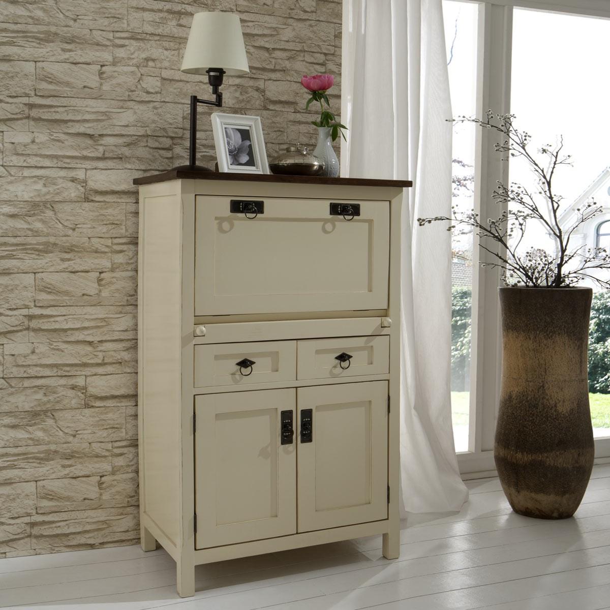 sekretaer creme. Black Bedroom Furniture Sets. Home Design Ideas