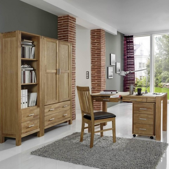 holzstuhl esszimmerstuhl k chenstuhl stuhl holz eiche massiv sitz braun neu. Black Bedroom Furniture Sets. Home Design Ideas