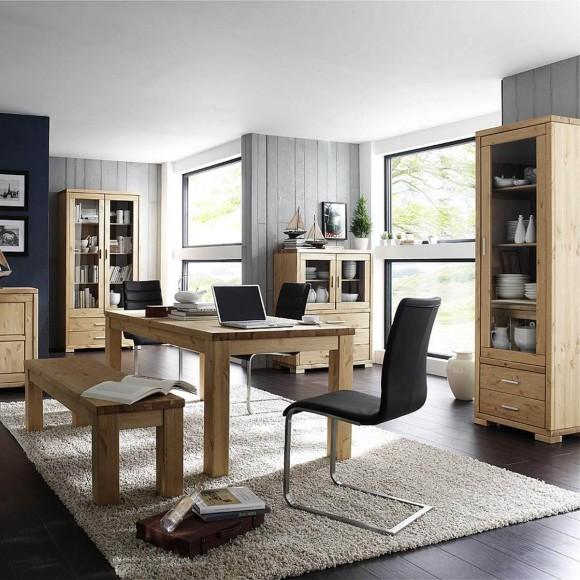 esstisch brandon 180x90 in eiche massiv ge lt. Black Bedroom Furniture Sets. Home Design Ideas