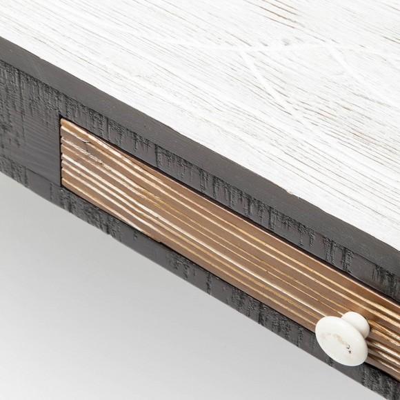 Kare Esstisch Railway ~ Lowboard Finca von Kare Design in Braun  Weiß