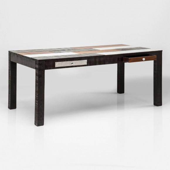 regal finca von kare design in braun wei. Black Bedroom Furniture Sets. Home Design Ideas