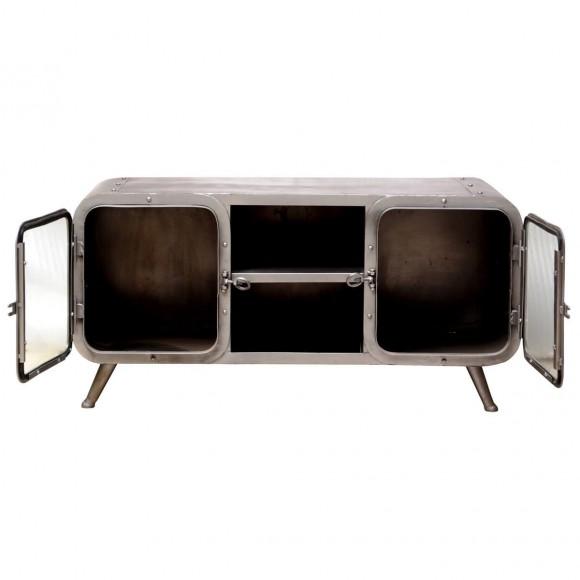 lowboard askoy aus massivholz antik wei pastell. Black Bedroom Furniture Sets. Home Design Ideas