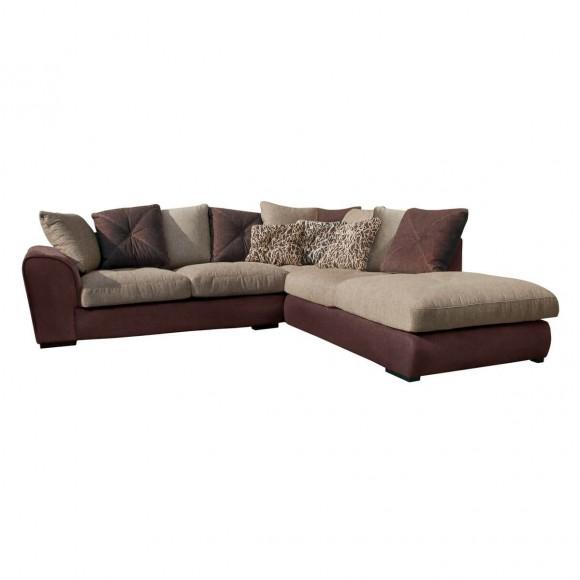 Couch und sofa versandkostenfrei bestellen for Ecksofa beige braun