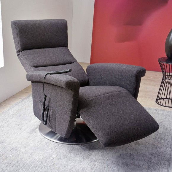 Sessel online shop m bel ideal for Relaxsessel grau stoff