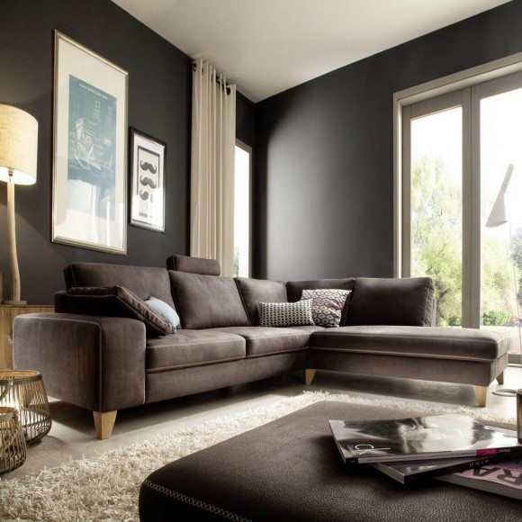 grose couch kleines wohnzimmer. Black Bedroom Furniture Sets. Home Design Ideas