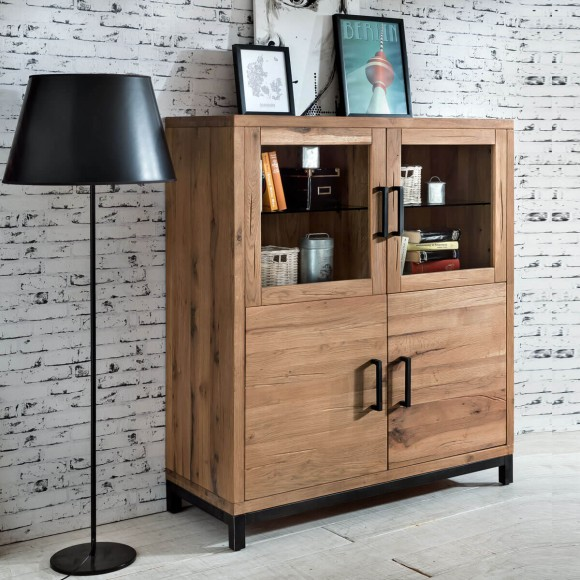 highboards bei m bel ideal g nstiger einkaufen. Black Bedroom Furniture Sets. Home Design Ideas