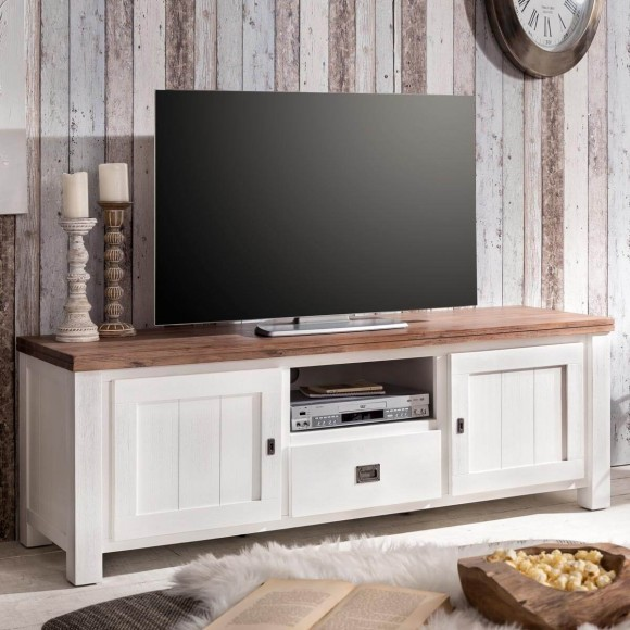 tv board wei braun die neuesten innenarchitekturideen. Black Bedroom Furniture Sets. Home Design Ideas