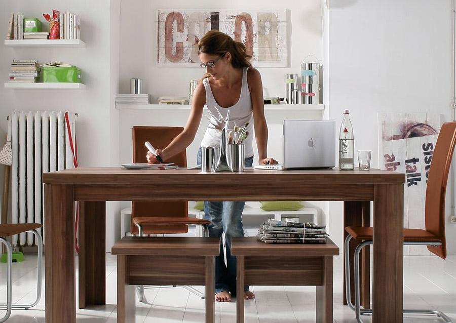 m bel aus walnussholz. Black Bedroom Furniture Sets. Home Design Ideas