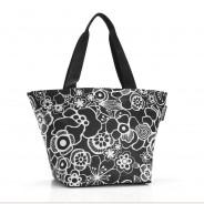 Reisenthel Shopper M in Fleur Black