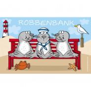 Gilde Frühstücksbrett Robbenbank