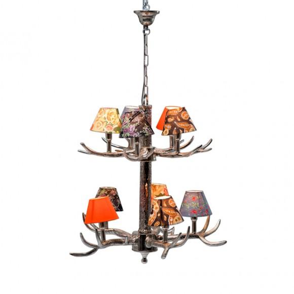H ngeleuchte deckenleuchte h ngelampe kare design antler for Lampe geweih modern