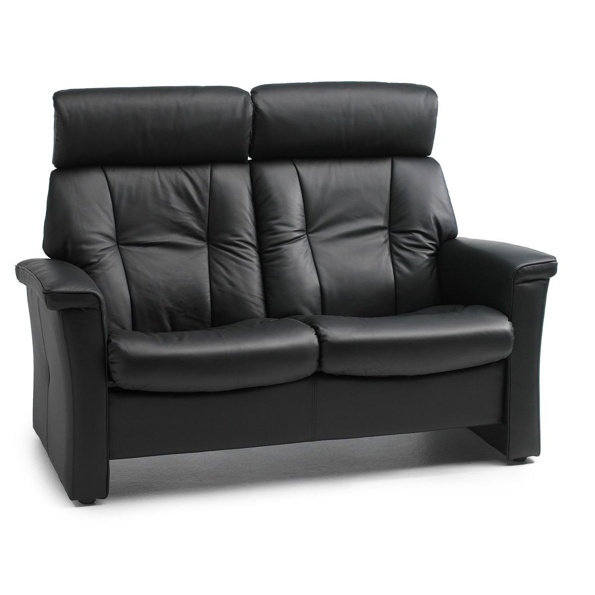 2er couch leder