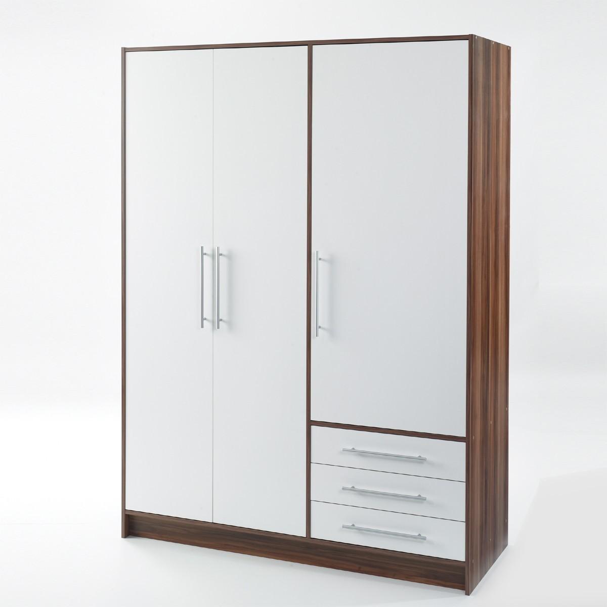 roller kleiderschrank gamma nussbaumwei heimatentwurf. Black Bedroom Furniture Sets. Home Design Ideas