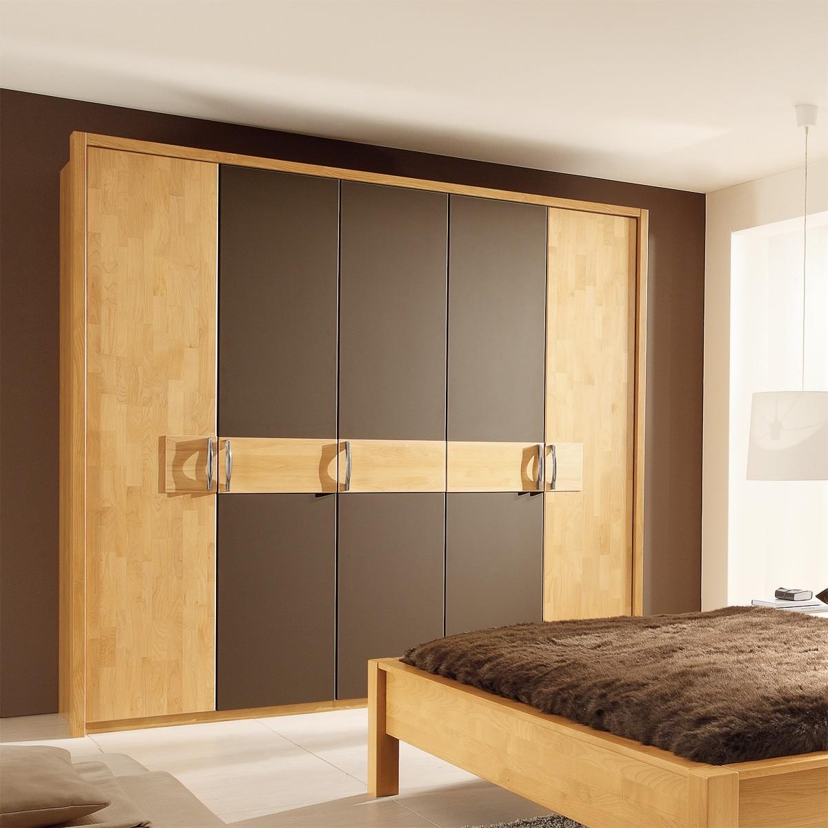 kleiderschrank chorus in kernbuche mocca b2b. Black Bedroom Furniture Sets. Home Design Ideas