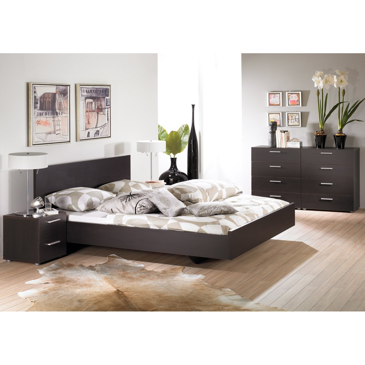 bett paradise 160 x 200 cm in coffee. Black Bedroom Furniture Sets. Home Design Ideas