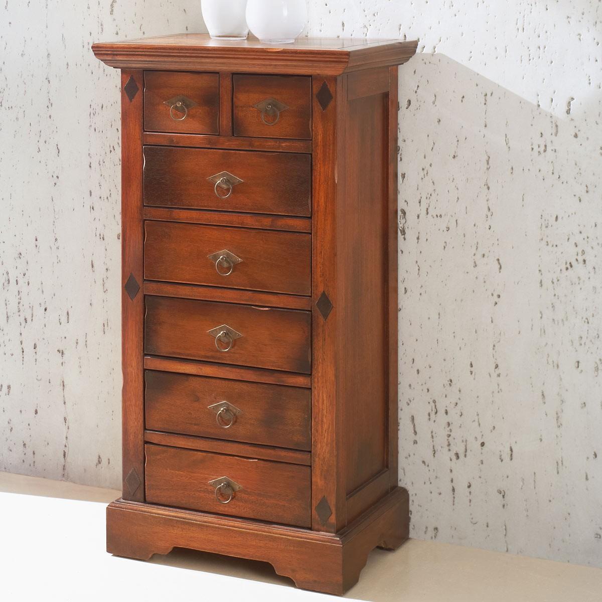 kommode kolonialstil bunt massivholz sideboard kommode. Black Bedroom Furniture Sets. Home Design Ideas