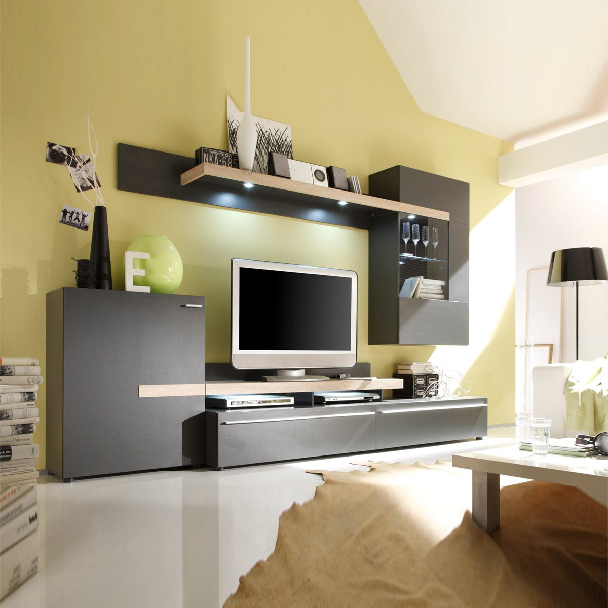 schrankw nde wohnw nde home immoviva design und luxus f r ihr zuhause. Black Bedroom Furniture Sets. Home Design Ideas