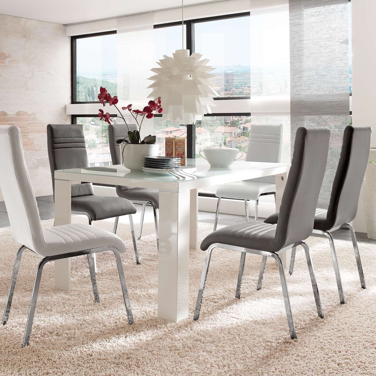 st hle esszimmer modern hausgestaltung ideen. Black Bedroom Furniture Sets. Home Design Ideas
