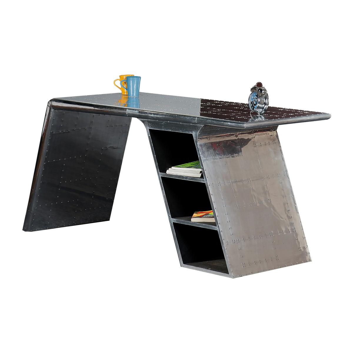 Kare cabana schreibtisch sekret r for Schreibtisch metall
