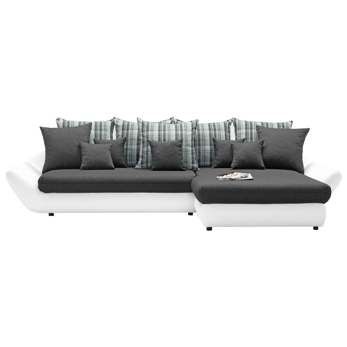 Ledercouch anthrazit  Couch Mit Elektrischer Relaxfunktion: Riesen couch enorm xxl ...