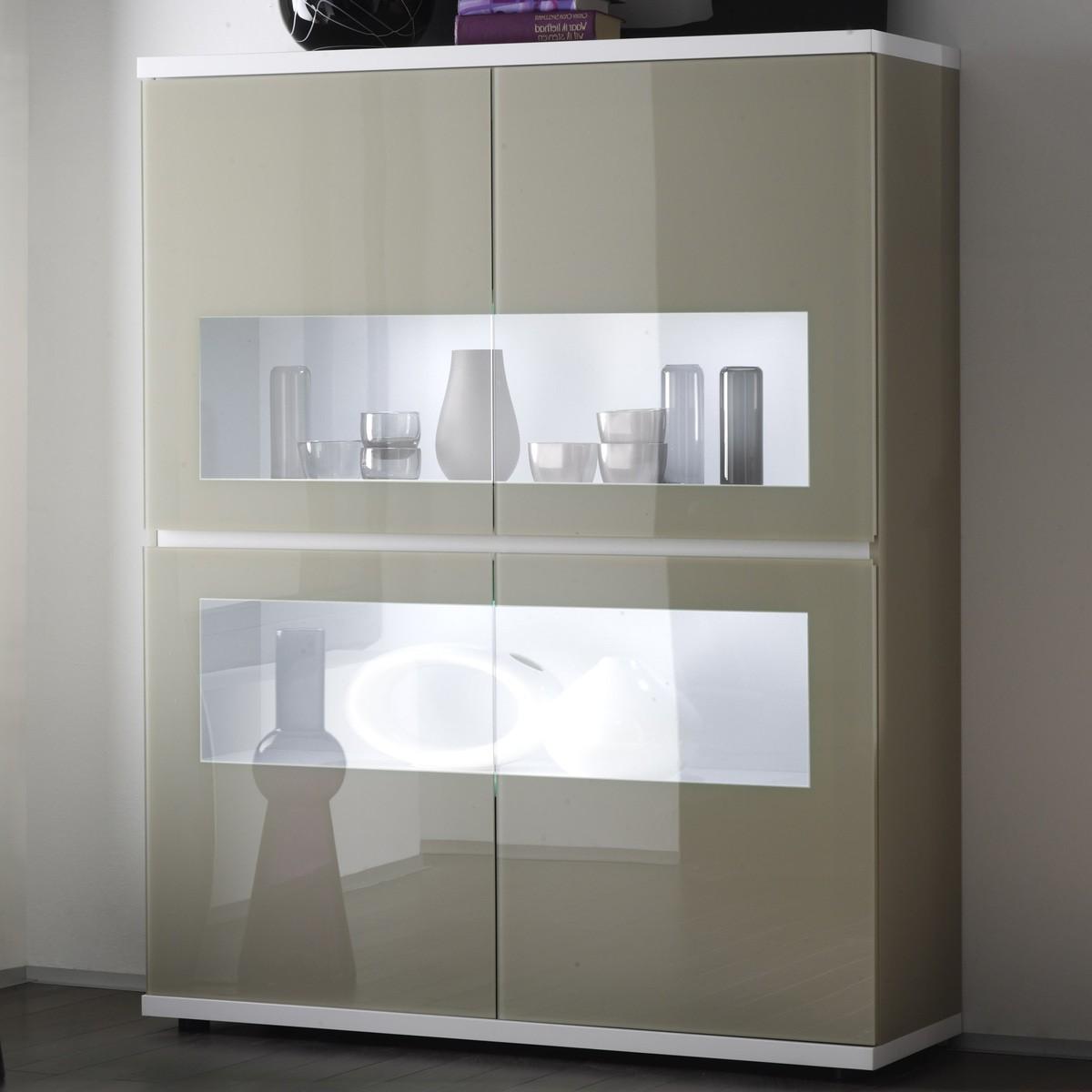 ... Piura Weiss Sandfarben mit Fronten aus Glas - 499.99 € - B2B-Trade