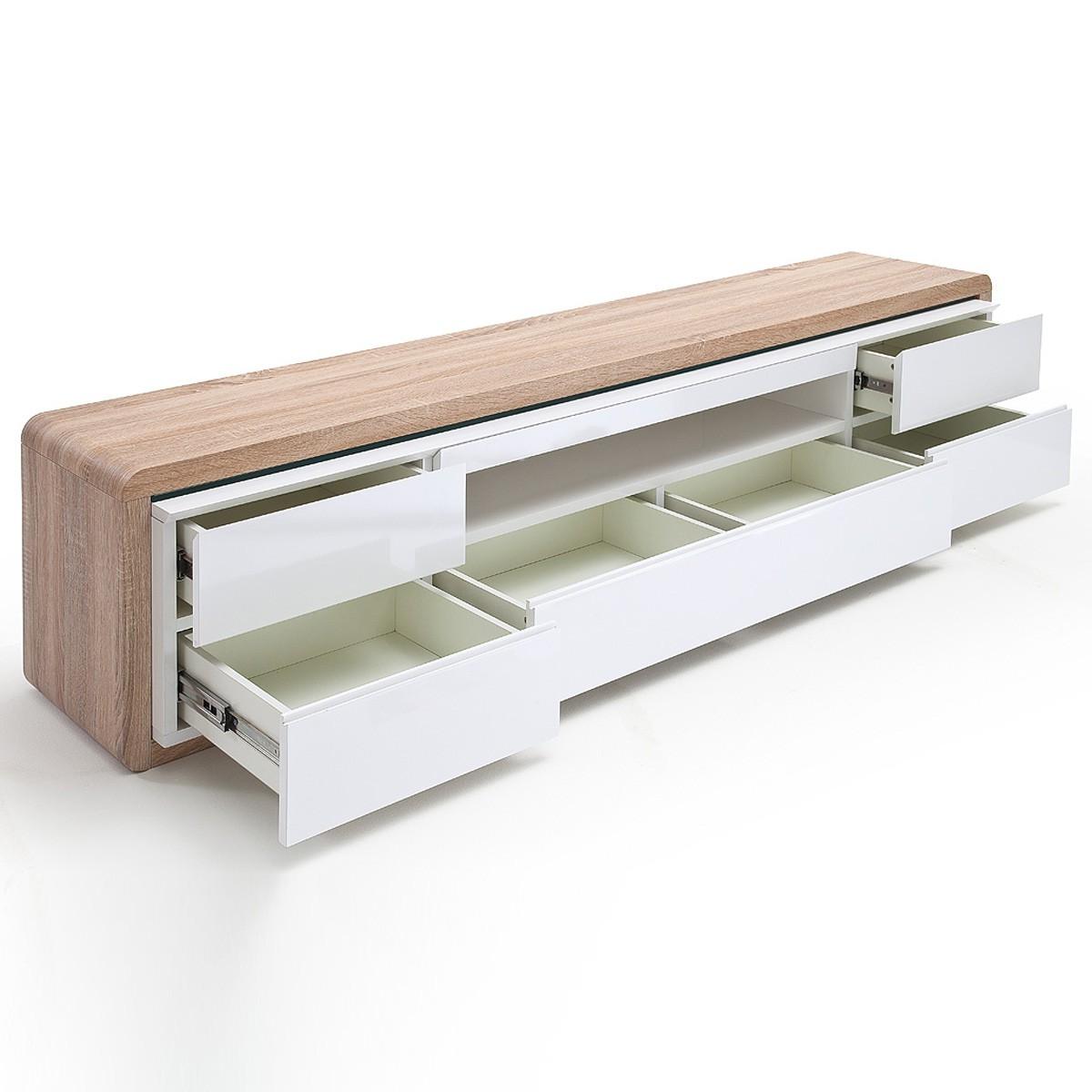 massivholzmobel eiche modern lowboard innenraum und m bel. Black Bedroom Furniture Sets. Home Design Ideas