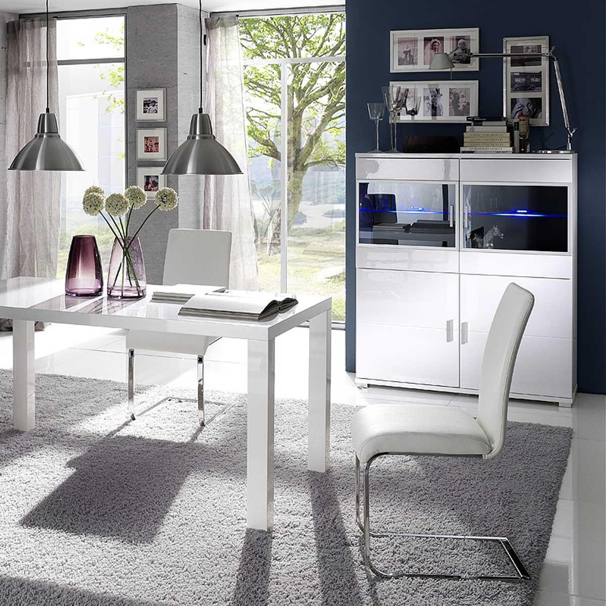 moderne highboards highboard design modern moderne highboards aus kunststoffplatte material in. Black Bedroom Furniture Sets. Home Design Ideas